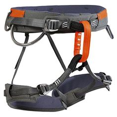 Wild Country Blaze Climbing Harness Mens Orange/Grey XLarge *** Check out the image by visiting the link. (This is an affiliate link) Climbing Harness, Gear Rack, Orange Grey, Outdoor Recreation, Legs, Country, Stylish, Pitch, Distance