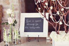 Eldorado Country Club - Wedding Reception Guest Book Table  www.eldoradocc.com