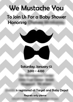 How to Plan a Mustache Bash for your Little Man