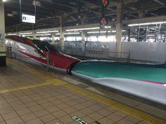 新幹線のキス