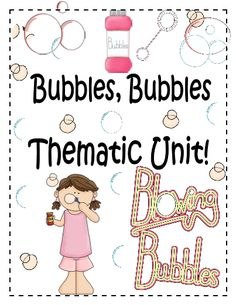 This pack contains a complete thematic unit all set to the theme of bubbles! It comes with cute printables to get the students in the mood to enjoy learning all about bubbles! #freeprintables #TeacherSherpa