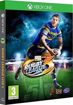 Rugby League Live 3 [Xbox One] Xbox One Video Games, Latest Video Games, Xbox 360 Games, Playstation Games, Wii, Videogames, Rugby League, Games Today, Cards
