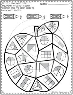 Superstars Which Are Helping Individuals Overseas Twelve Color By Code Worksheets Including: 2 Pages Of Denominatornumerator Recognition, 2 Pages Of Classifying Fractions As Greater Than Or Less Than 5 Pages Of Equivalent Fraction Identification Repres Kids Math Worksheets, Math Resources, Math Activities, Math Games, Math Stations, Math Centers, Math Division, Long Division, Math Graphic Organizers
