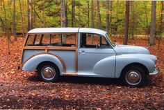 1967 Morris Minor Woody Wagon Traveler 1000 but would want white!