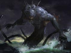 Kraken rough 2 by LozanoX.deviantart.com on @DeviantArt