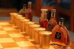 Thepawnsareinplace;willyouuse yourassetstothefull? #cognac #alcool #drink