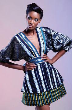 Africa Meets Japan: The Deola Sagoe Fall 2011 Ori Oke Collection. Latest African Fashion, African Prints, African fashion styles, African clothing, Nigerian style, Ghanaian fashion, African women dresses, African Bags, African shoes, Nigerian fashion, Ankara, Aso okè, Kenté, brocade DK