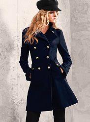 Wool Military Coat - Victoria's Secret