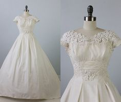Community Post: 21 Gorgeous Vintage Wedding Gowns You Can Buy On Etsy