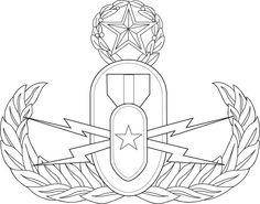 EOD Badge