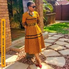 Must Have Trendy Africa Styles For Ladies - Reny styles Xhosa Attire, African Attire, African Wear, African Women, African Style, African Print Dresses, African Fashion Dresses, African Dress, African Prints