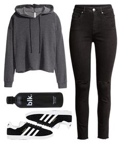 """""""Untitled #326"""" by bandgeek01234x on Polyvore featuring H&M and adidas"""