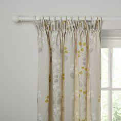 Buy John Lewis Seedlings Lined Pencil Pleat Curtains Online at johnlewis.com
