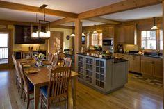 une cuisine déco loft à plan ouvert