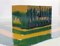 tosani  M&P 14 (Série Architecture et peinture), 2010 (Série Architecture et peinture) Photographie couleur c-print, encadrement plexiglass 164 x 206 cm