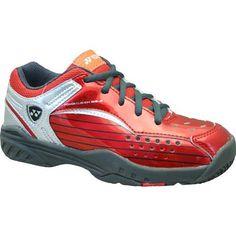 Yonex Power Cushion 308 Junior Tennis Shoes Metallic Red/Black Yonex. $54.00
