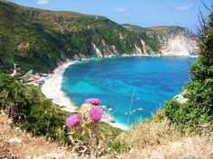 Petani beach in Kefalonia island ~ Greece