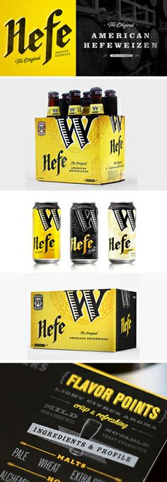 Hornall Anderson created a nice packaging update for Portland, Oregon's Widmwer Brothers.