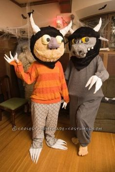 Where The Wild Things Are – Amazing Couples Costume... Coolest Homemade Costumes