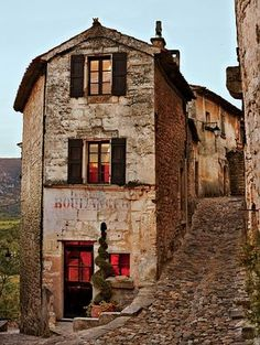 Tiny village of Lacoste in Provence - the Marquis de Sade's old haunt, transformed by French fashion icon Pierre Cardin