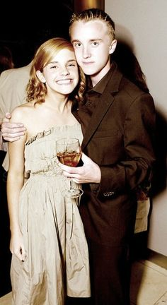 Hermione and Draco the early years.