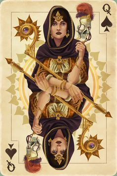 Chronoperates - Queen of Spades /  Embodied <3