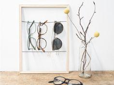 DIY: Display voor je brillen.