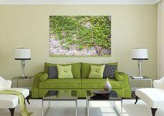 3D Ivy Vine Stone Wall 8 Wall Stickers Vinyl Wall Murals Print Ajstore Us Lemon