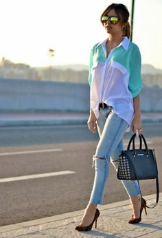 15 COOL Ripped Jeans Outfits