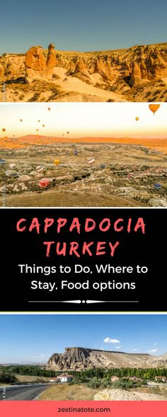 Cappadocia is a stunning part of #Turkey. Rent a car and explore its beauty, walk, drive, go up on the Hot air balloon, relax. There are so many things to do and enjoy the unusual landscape of this region. #cappadocia #thingstodointurkey #whattodoincappadocia #hotairballoon
