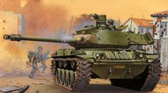 Walker Bulldog in Action - Armor No. 29 Used Book in Good Condition Army Drawing, Military Weapons, Military Tank, Tank Armor, War Thunder, Armored Fighting Vehicle, Vietnam War, Military History, World War Two