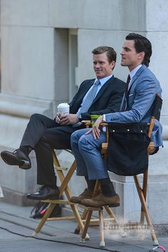 WC 5-31-13 This is just awesome - Warren Kole and Matt Bomer