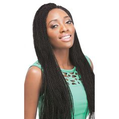 """Outre X-Pressions Crochet Braid SENEGALESE TWIST SMALL 14"""" - Elevate Styles"""