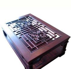 The intricate detailed woodcarving found in Chinese window panels, doors, and room dividers have long been an artistic form in Chinese decorative art. Item No. Grey Wood Coffee Table, Marble Top Coffee Table, Side Coffee Table, Coffee Center, Art For Sale Online, Hallway Decorating, White Marble, Decorative Boxes, Room Dividers