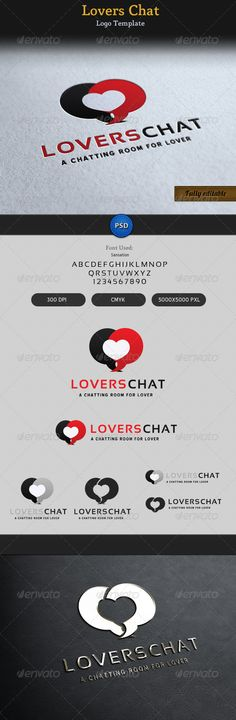 "Lovers Chat Romantic Talk Logo #GraphicRiver Love/Romantic/Chat/Talking related logo design. Very organized and customizable PSD. Font: Name: Sansation .dafont /sansation.font Name: Blue Highway .dafont /blue-highway.font Features: 5000×5000 pixel 300 DPI CMYK Resizable Free Font Used Thank you Check out my Business Cards Check out my Flyers Check out Corporate Stationaries Check out my Exclusive Logo Designs thumb.png"" /> /3163429""> Check out my Signage Designs Need A Custom Design…"