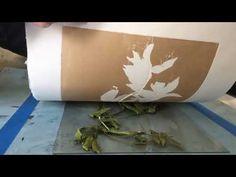 BOTANICAL MONOPRIINTING - YouTube Collagraph, Printmaking, Flora, The Creator, Youtube, Prints, Art, Art Background, Kunst