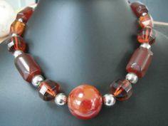 Unusual Art Deco Bakelite Necklace