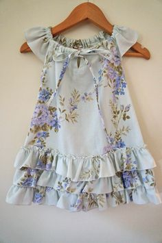 bandikoot up-cycled vintage kids dresses