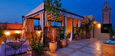 Dinning-on-the-roof-terrace-at-Marrakech-Riad-Cinnamon.jpg (795×390)