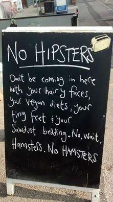No wait, Hamsters!