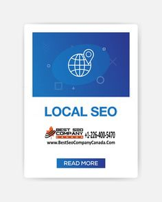 We are delivering the best SEO strategy for the year 2020 for all local businesses in Canada. Hire the best SEO company in Canada. Best Seo Services, Digital Marketing Services, Social Media Marketing, Seo Consultant, Best Seo Company, Seo Agency, Seo Strategy, Search Engine Marketing