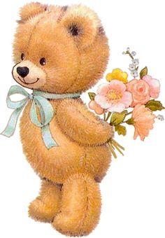 "Photo from album ""Teddy Bear"" on Yandex. Teddy Bear Images, Teddy Bear Pictures, Tatty Teddy, Cute Images, Cute Pictures, Bear Wallpaper, Cute Teddy Bears, Vintage Greeting Cards, Digi Stamps"