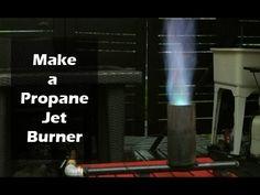 Build a Propane Jet Burner - Brewing, Seafood, Wok Burner: 11 Steps (with Pictures) Diy Pizza Oven, Forge Burner, Oven Burner, Wood Pizza, Wood Fired Pizza, Bbq Lighter, Diy Grill, Beer Keg, Ovens