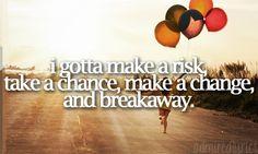 """""""Breakaway"""" -Kelly Clarkson"""