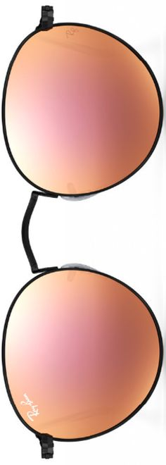 Ray-Ban Round Metal Copper Flash