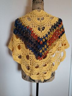 Check out this item in my Etsy shop https://www.etsy.com/listing/483510027/hand-crochet-shawltriangle-scarf
