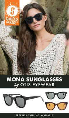 9c4b90a1a61 Otis Mona Sunglasses - by Otis Eyewear - Free USA Shipping