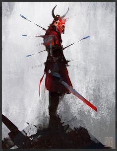 ArtStation - Blood Armour, Alexander J