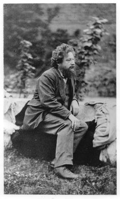 William Morris - brilliant artist, designer, author; forefather of the green movement; Renaissance Man.
