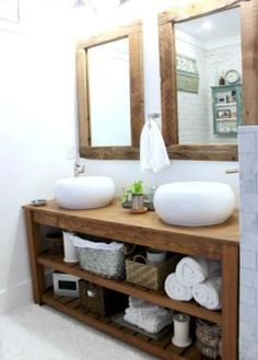 Find The Inspiration To Turn Your Bathroom Into A Great Escape Filled With Modern Rustic Appeal: More Than Wood
